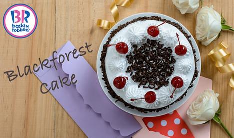 Baskin Robbins - Blackforest Cake