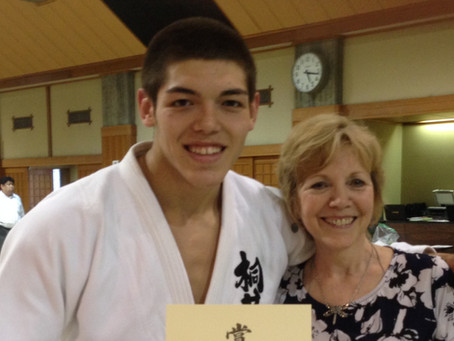 Welcome to my New Blog!  Judo Mom.....The Murao Story
