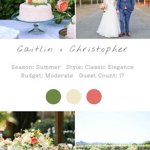 CAITLIN + CHRISTOPHER - SONOMA WEDDING