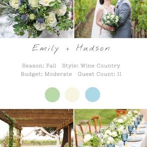 EMILY + HUNSON - SONOMA WEDDING