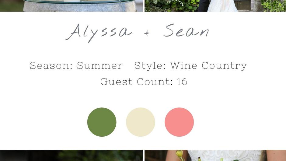 ALYSSA + SEAN - BERINGER NAPA WEDDING