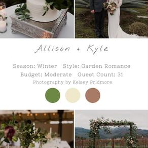 ALLISON + KYLE - NAPA WEDDING