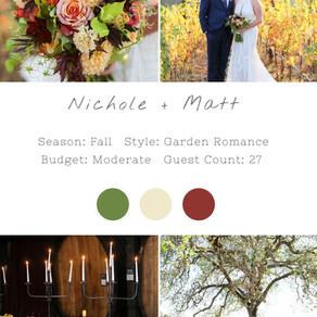 NICHOLE+ MATT - MERRYVALE NAPA WEDDING