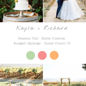 KAYLA + RICHARD - HARVEST INN NAPA WEDDING