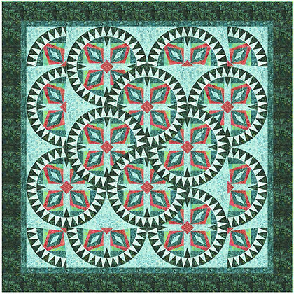 Tribal Coins Digital Pattern