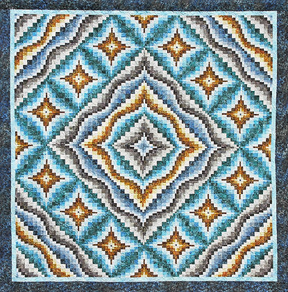 Ripples Digital Pattern