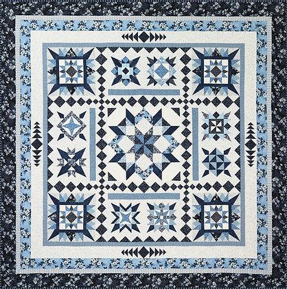 Azul BOM digital pattern