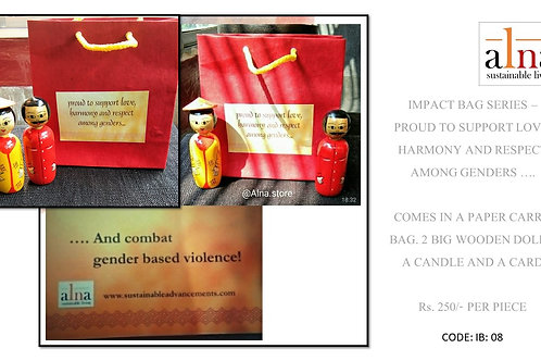 Impact Bags - Proud to support love, harmony and support among genders
