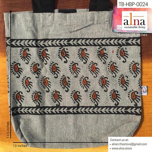 Fabulous Ethnic print Grey Tote bags