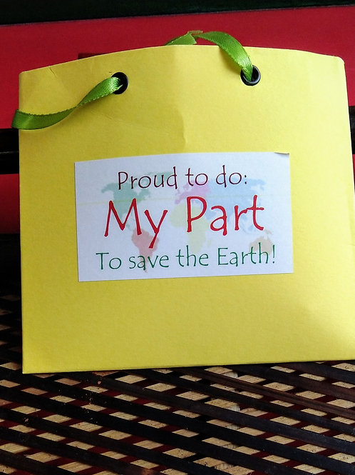 Impact Bag Series - Proud to do my Part to Save the Earth