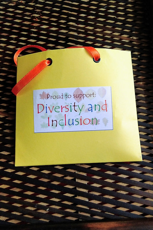Impact Bag Series - Proud to support Diversity and Inclusion