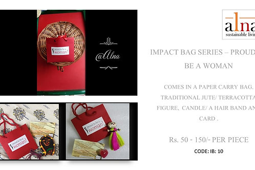 Impact Bags - Proud to be a woman