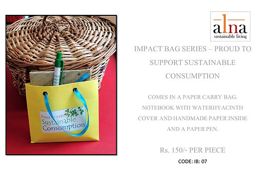 Impact Bags - Proud to support sustainable consumption