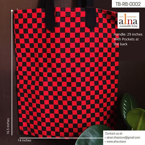 Striking Red Tote Bags
