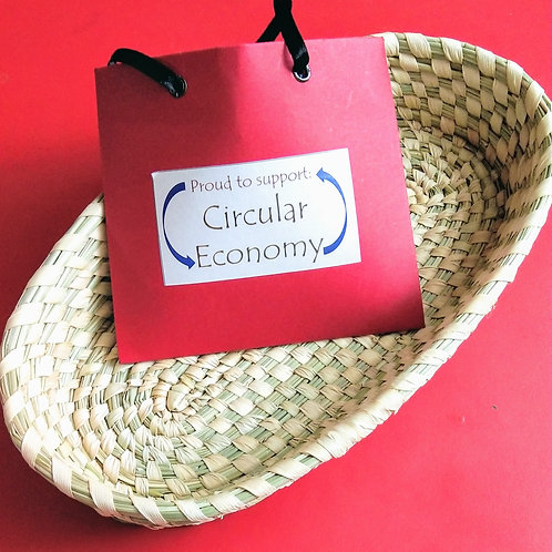 Impact Bag Series - Proud to support Circular Economy