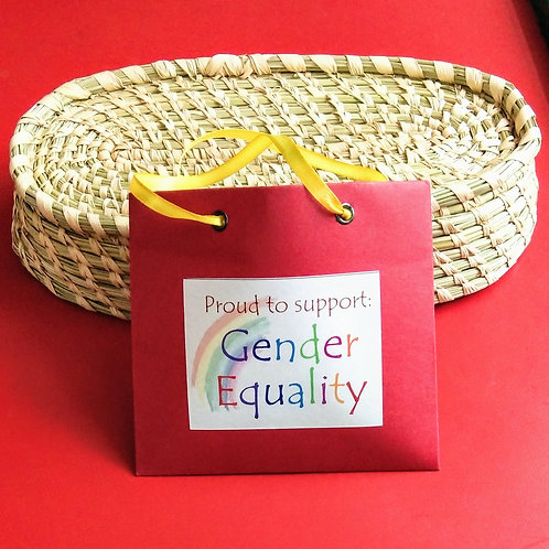 Impact Bag Series - Proud to support Gender Equality