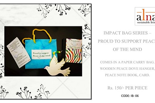 Impact bags - Proud to support peace of mind