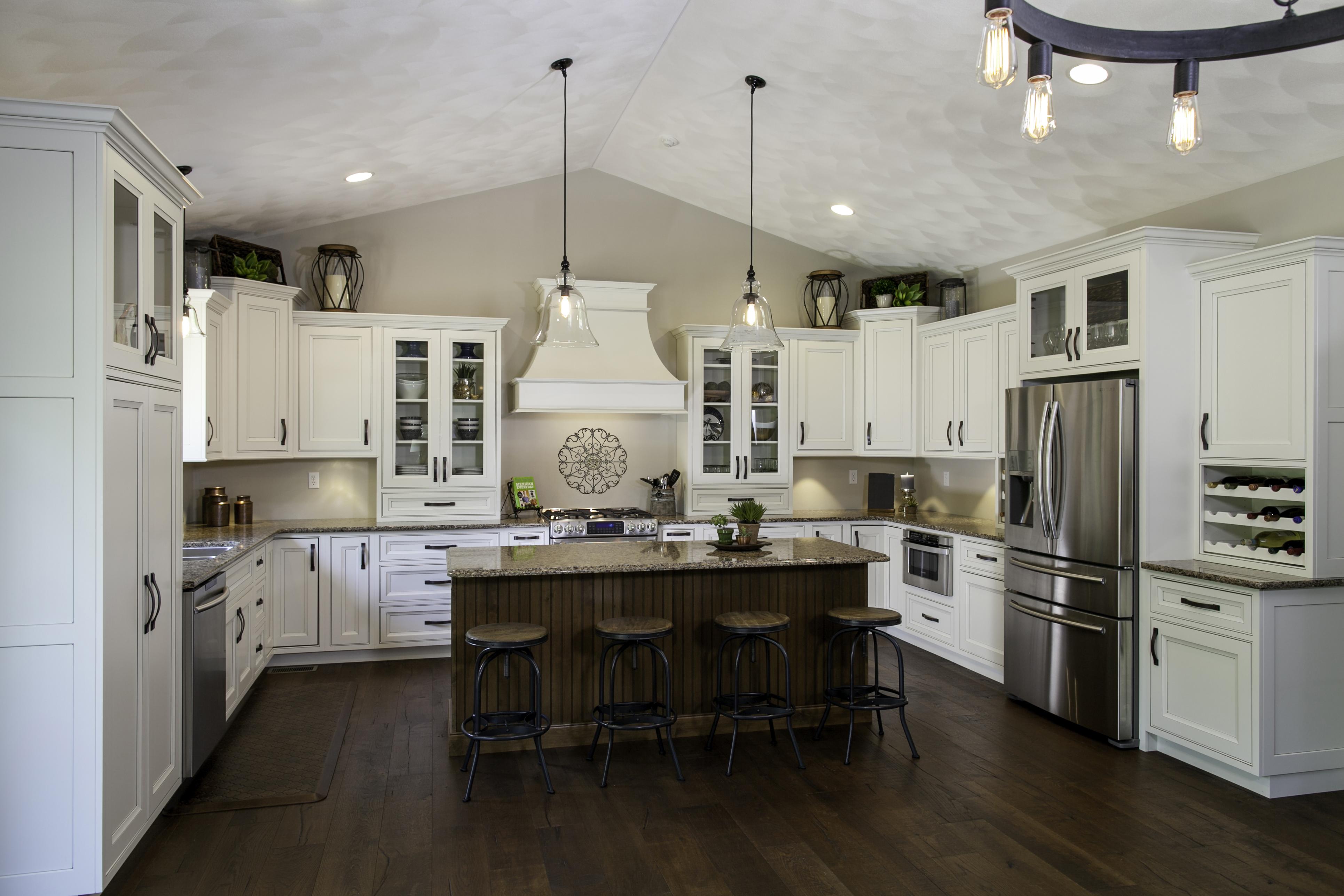 soft white kitchen cabinets