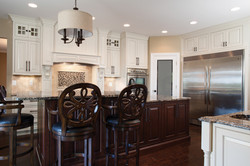 soft white painted cabinetry