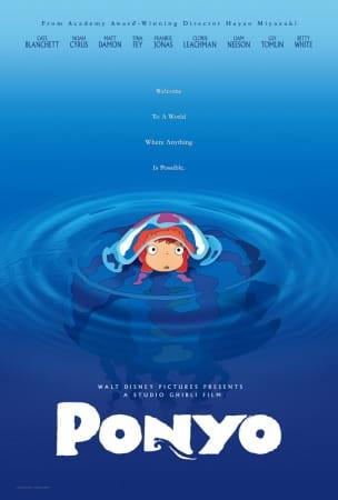 Ponyo Poster