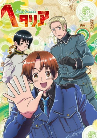 Hetalia Axis Powers Poster