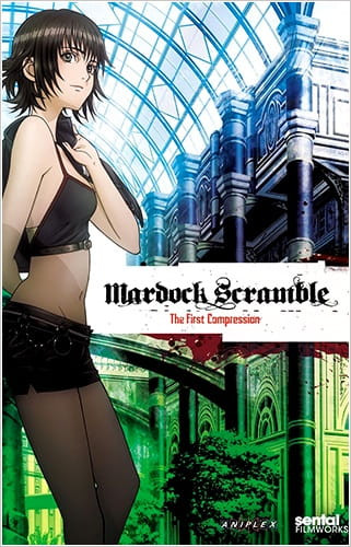 Mardock Scramble: The First Compression Poster
