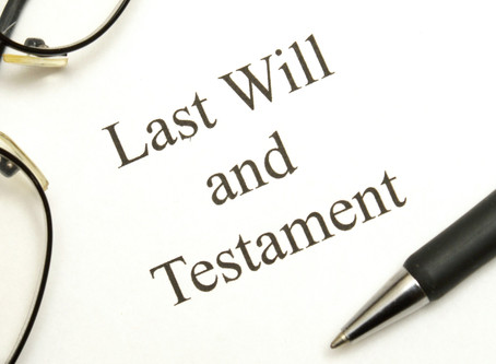 4 Reasons Why You Need a Will?