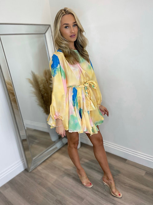 PERLA DRESS - YELLOW