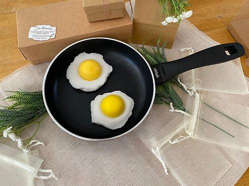 Huevo Frito - Jabón de glicerina
