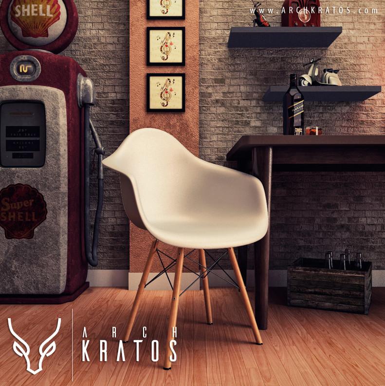 ARCH KRATOS - computação gráfica