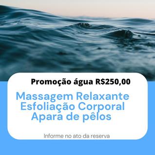 Promoção Agua R$ 250,00