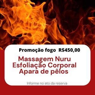 Promoção Fogo R$ 50,00