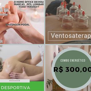Combo Energético R$300,00