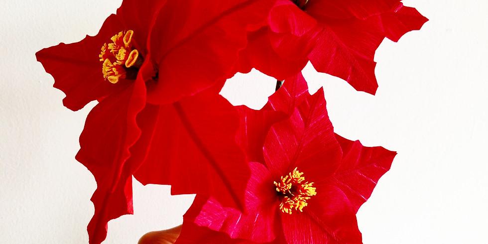 Paper Poinsettia Workshop