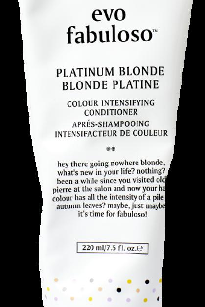 Fabuloso Platinum Blonde Treatment