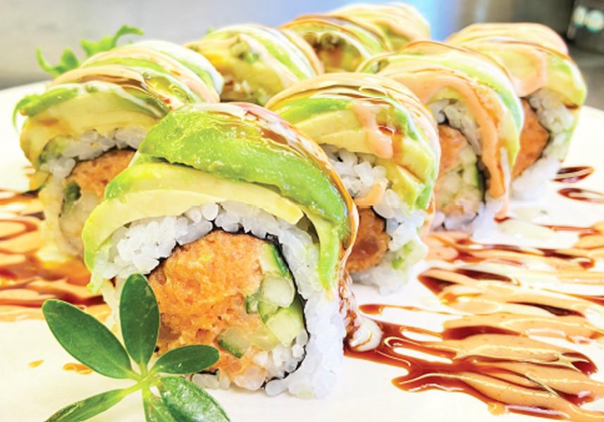 Spicy Tuna Dragon Roll
