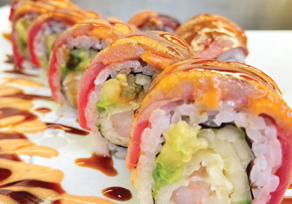 Maguro Torch Roll