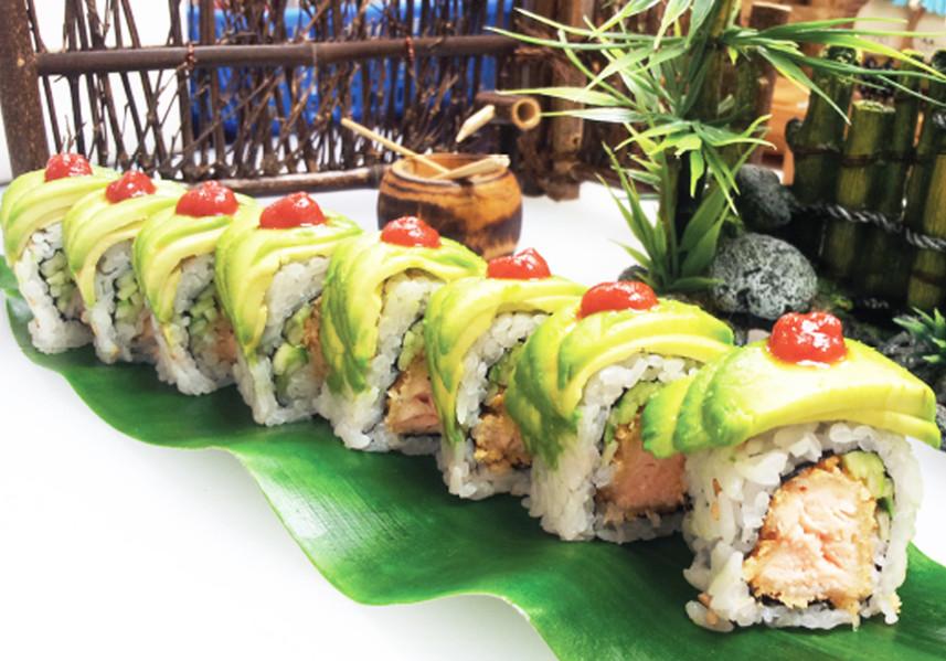 Salmon Surprise Roll
