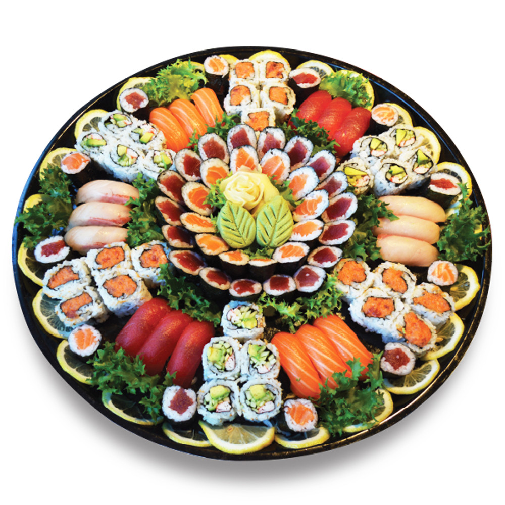 # 1-Sushi & Roll Combo (96pcs)