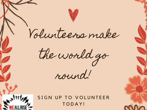 Volunteer Positions Available