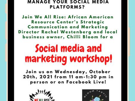Social Media and Marketing Workshop