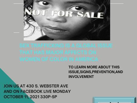 Sex Trafficking Women of Color Workshop