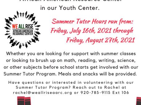 Summer Tutor Program