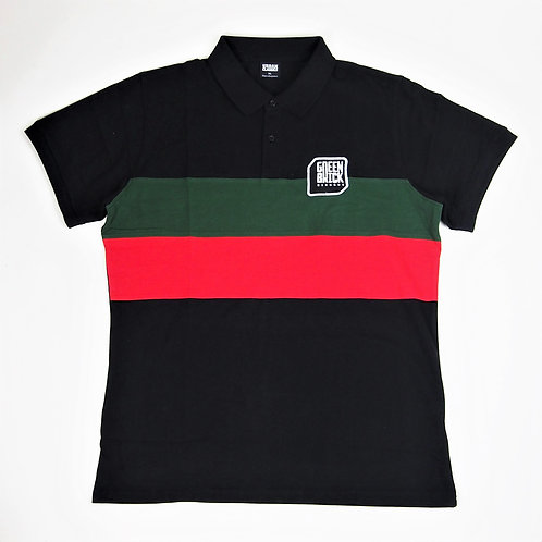 Green Brick Badge Polo Short-Sleeve