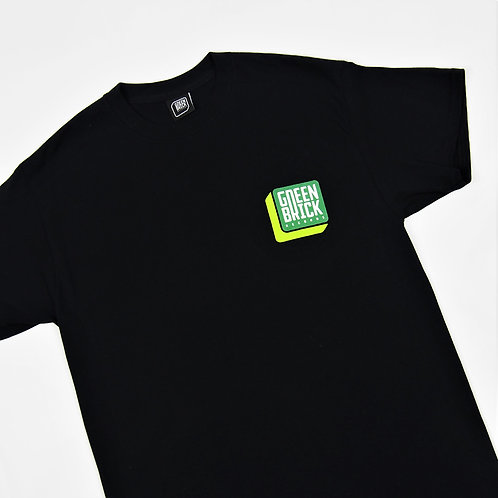 Brick T-shirt Black