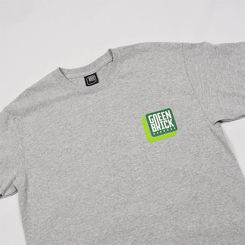 Brick T-shirt Grey