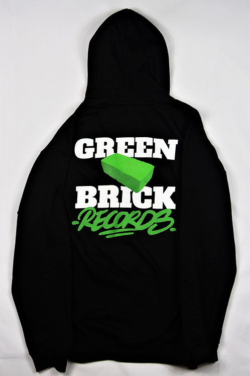 Green Brick Plush Hoody