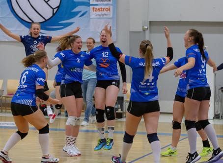 KAUDEN AVAUS Juju Joensuu - LP Vampula 3-0 (26-24,25-25,25-20)