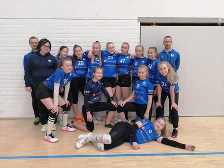 Juju C1 - Tiukkoja pelejä 1. poolikierroksella Kiteellä