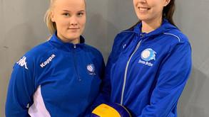 Juju vahvisti rivejään - Noora Taskinen ja Siiri Hartikainen liittyivät joensuulaisjoukkueeseen